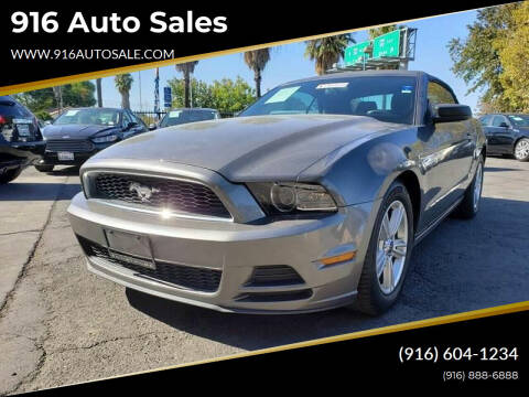 2014 Ford Mustang for sale at 916 Auto Sales in Sacramento CA
