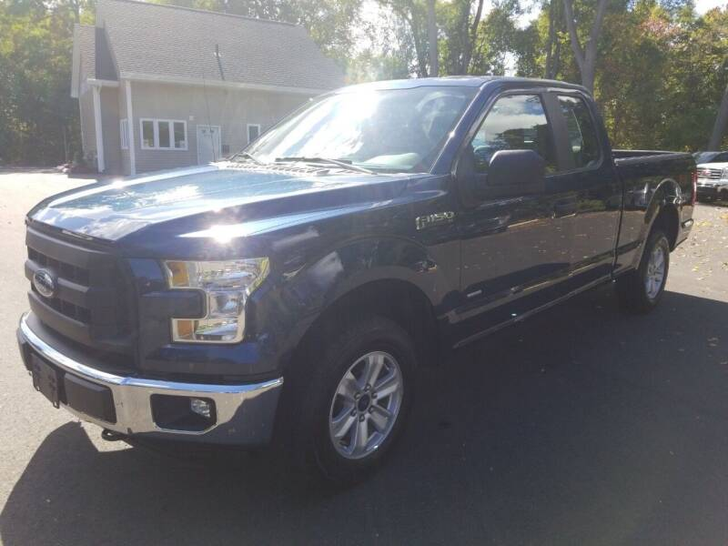 2016 Ford F-150 for sale at KLC AUTO SALES in Agawam MA