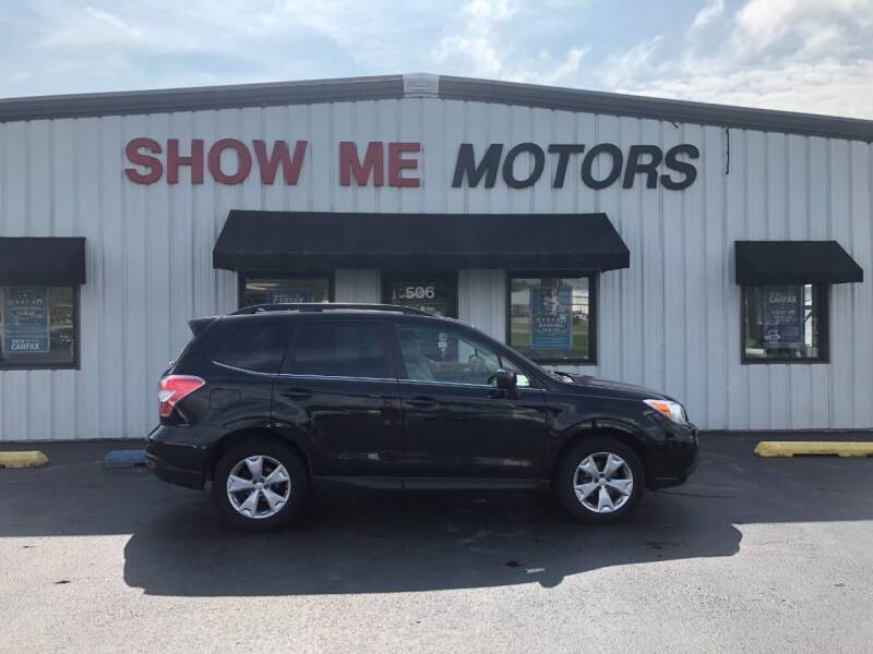 2014 Subaru Forester for sale at SHOW ME MOTORS in Cape Girardeau MO
