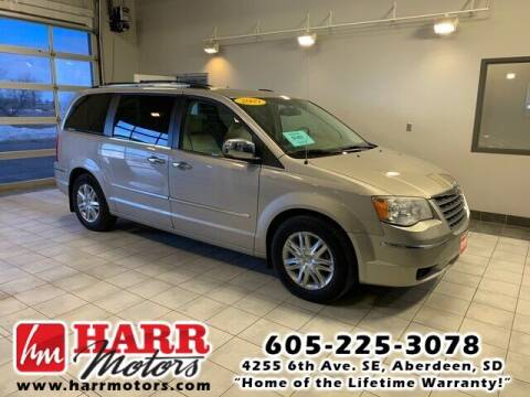 2009 Chrysler Town and Country for sale at Harr Motors Bargain Center in Aberdeen SD