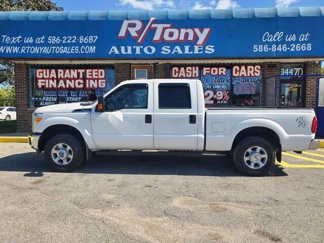 2014 Ford F-250 Super Duty for sale at R Tony Auto Sales in Clinton Township MI