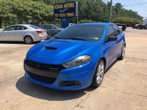 2016 Dodge Dart for sale at Oceana Motors in Virginia Beach VA
