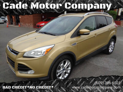2015 Ford Escape for sale at Cade Motor Company in Lawrenceville NJ