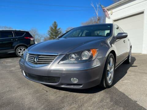 2008 Acura RL for sale at SOUTH SHORE AUTO GALLERY, INC. in Abington MA