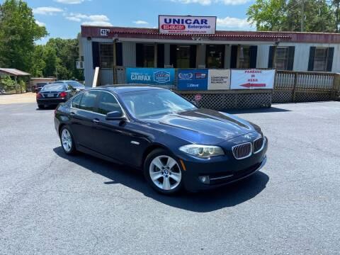2012 BMW 5 Series for sale at Unicar Enterprise in Lexington SC