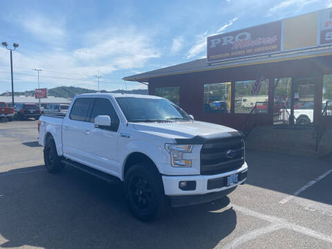 2017 Ford F-150 for sale at Pro Motors in Roseburg OR