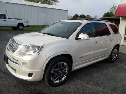 2012 GMC Acadia for sale at CARSON MOTORS in Cloverdale IN