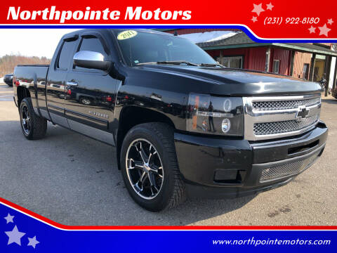 2011 Chevrolet Silverado 1500 for sale at Northpointe Motors in Kalkaska MI