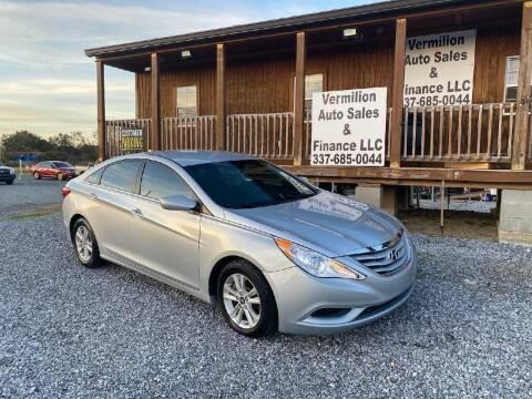 2013 Hyundai Sonata for sale at Vermilion Auto Sales & Finance in Erath LA
