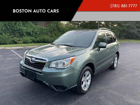 2016 Subaru Forester for sale at Boston Auto Cars in Dedham MA