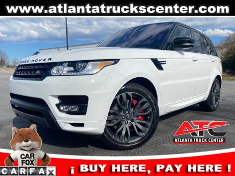 2017 Land Rover Range Rover Sport for sale at ATLANTA TRUCK CENTER LLC in Brookhaven GA