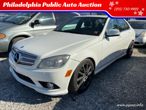 2009 Mercedes-Benz C-Class for sale at Philadelphia Public Auto Auction in Philadelphia PA