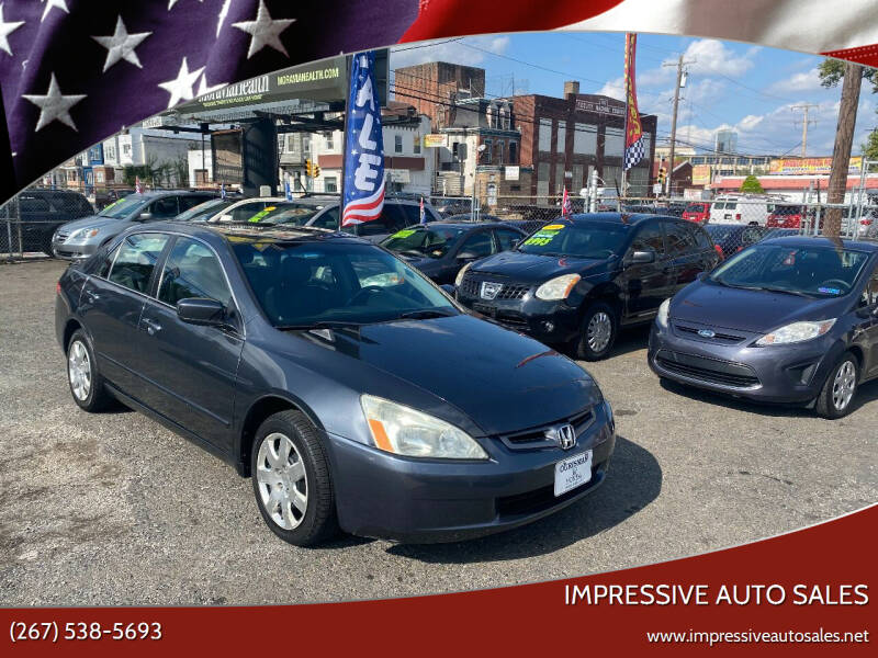 2005 Honda Accord for sale at Impressive Auto Sales in Philadelphia PA