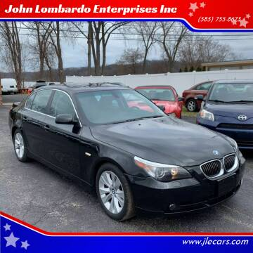 2005 BMW 5 Series for sale at John Lombardo Enterprises Inc in Rochester NY