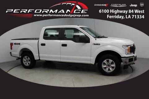 2018 Ford F-150 for sale at Performance Dodge Chrysler Jeep in Ferriday LA