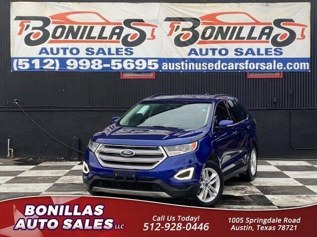 2015 Ford Edge for sale at Bonillas Auto Sales in Austin TX