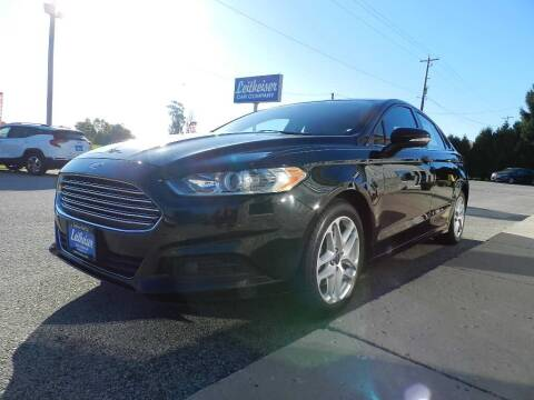2015 Ford Fusion for sale at Leitheiser Car Company in West Bend WI