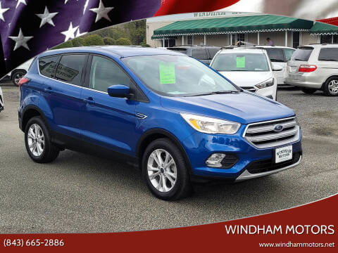 2019 Ford Escape for sale at Windham Motors in Florence SC