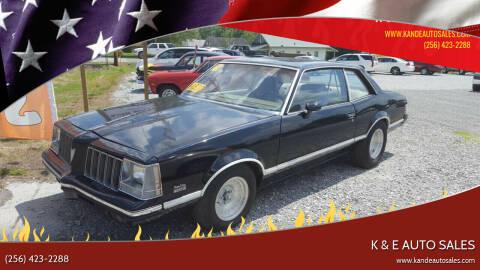 1979 Pontiac Grand Am for sale at K & E Auto Sales in Ardmore AL