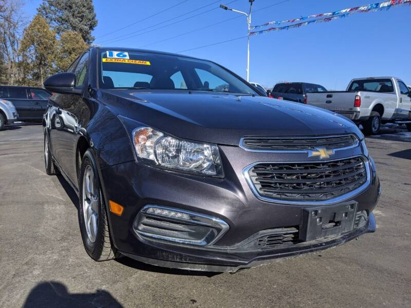 2016 Chevrolet Cruze Limited for sale at GREAT DEALS ON WHEELS in Michigan City IN