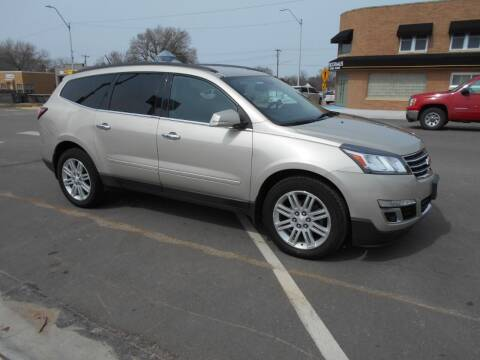 2013 Chevrolet Traverse for sale at Creighton Auto & Body Shop in Creighton NE