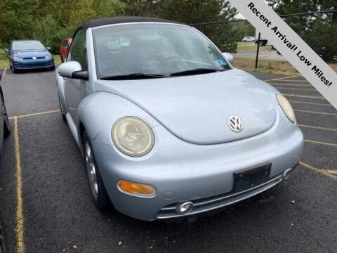 2003 Volkswagen New Beetle Convertible for sale at Vorderman Imports in Fort Wayne IN