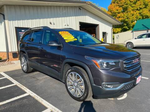 2017 GMC Acadia for sale at Kubly's Automotive in Brodhead WI