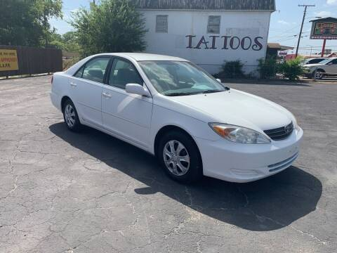 2002 Toyota Camry for sale at Elliott Autos in Killeen TX