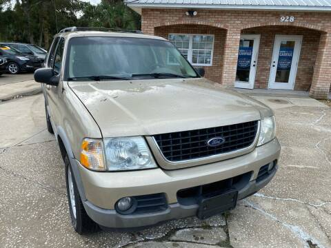 2002 Ford Explorer for sale at MITCHELL AUTO ACQUISITION INC. in Edgewater FL