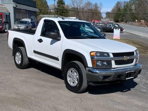 2008 Chevrolet Colorado for sale at Saratoga Motors in Gansevoort NY