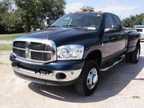2006 Dodge Ram Pickup 3500 for sale at CANTWEIGHT CLASSICS in Maysville OK