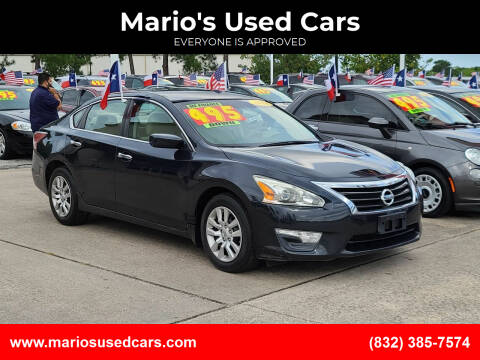 2014 Nissan Altima for sale at Mario's Used Cars in Houston TX