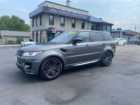 2017 Land Rover Range Rover Sport for sale at Sisson Pre-Owned in Uniontown PA