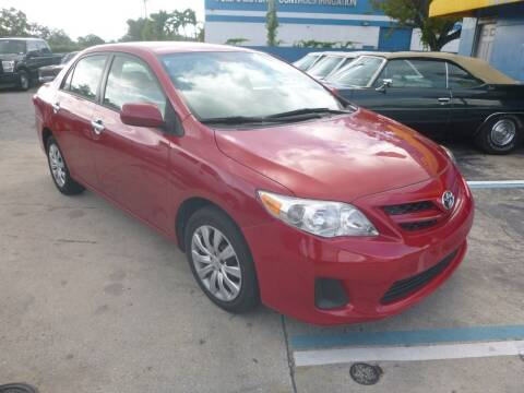 2012 Toyota Corolla for sale at Car Mart Leasing & Sales in Hollywood FL