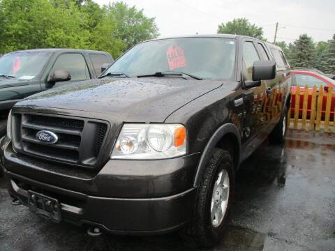 2006 Ford F-150 for sale at SPRINGFIELD AUTO SALES in Springfield WI