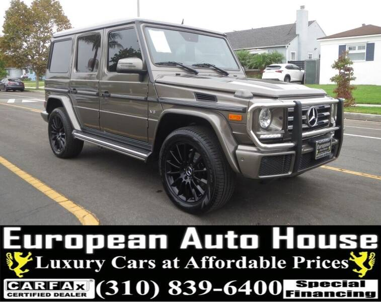 2016 Mercedes-Benz G-Class for sale at European Auto House in Los Angeles CA
