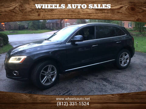 2016 Audi Q5 for sale at Wheels Auto Sales in Bloomington IN