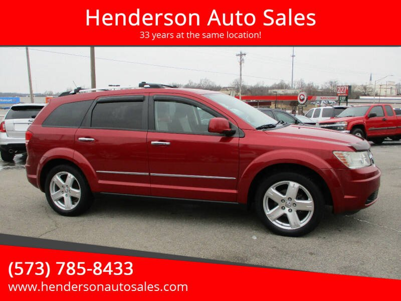 2009 Dodge Journey for sale at Henderson Auto Sales in Poplar Bluff MO