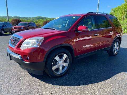 2012 GMC Acadia for sale at Pine Grove Auto Sales LLC in Russell PA