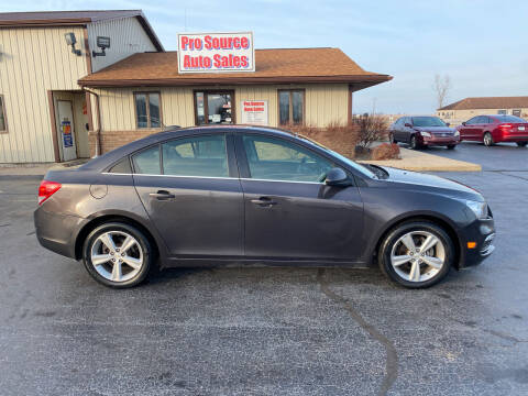 2015 Chevrolet Cruze for sale at Pro Source Auto Sales in Otterbein IN