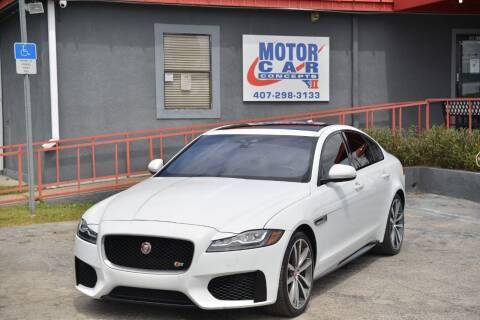 2017 Jaguar XF for sale at Motor Car Concepts II - Kirkman Location in Orlando FL