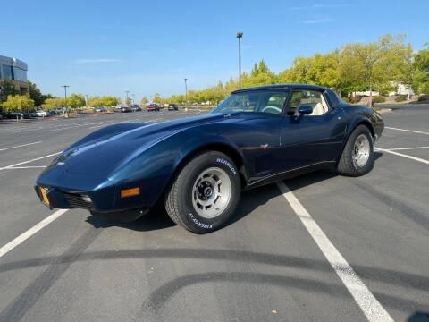1979 Chevrolet Corvette for sale at 3D Auto Sales in Rocklin CA
