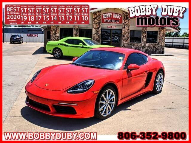 2019 Porsche 718 Cayman for sale in Amarillo, TX