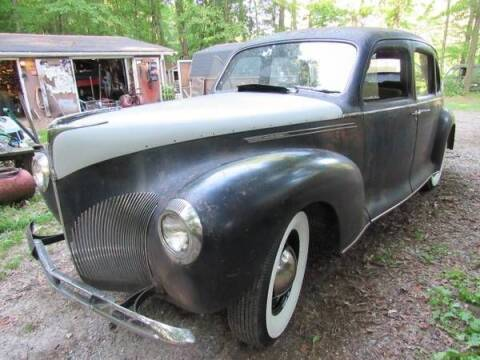 1940 Lincoln Zephyr for sale at Classic Car Deals in Cadillac MI