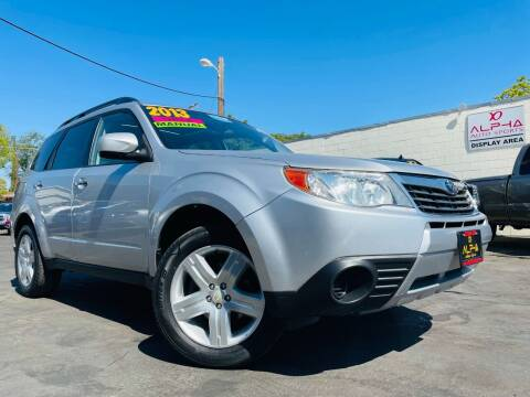 2010 Subaru Forester for sale at Alpha AutoSports in Roseville CA