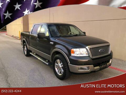 2005 Ford F-150 for sale at Austin Elite Motors in Austin TX