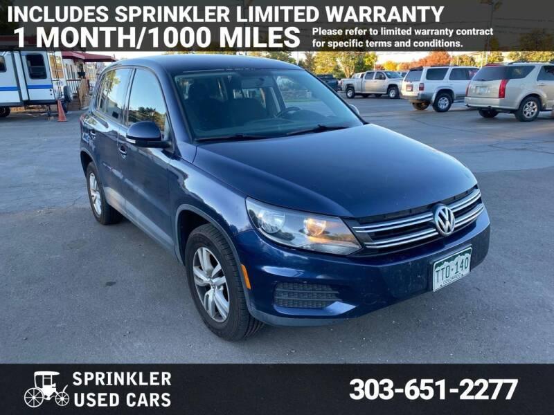 2013 Volkswagen Tiguan for sale at Sprinkler Used Cars in Longmont CO