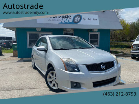 2010 Nissan Sentra for sale at Autostrade in Indianapolis IN