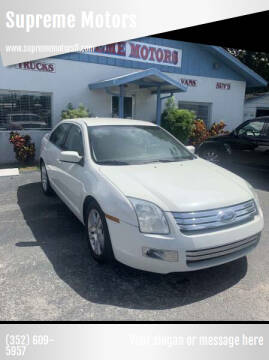 2008 Ford Fusion for sale at Supreme Motors in Tavares FL