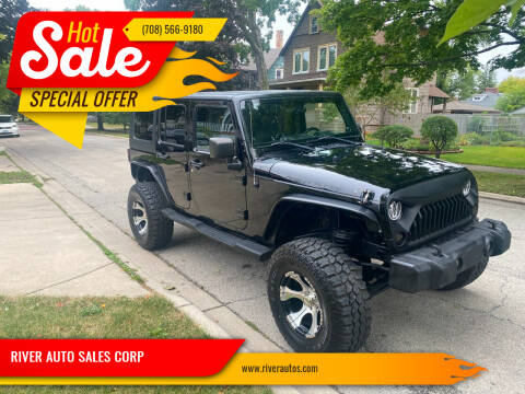 2008 Jeep Wrangler Unlimited for sale at RIVER AUTO SALES CORP in Maywood IL